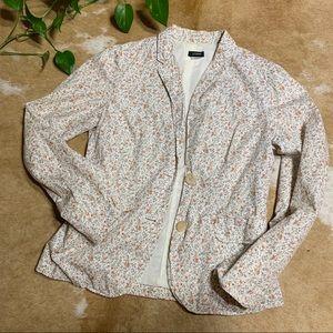 J. Crew floral blazer, sz 4